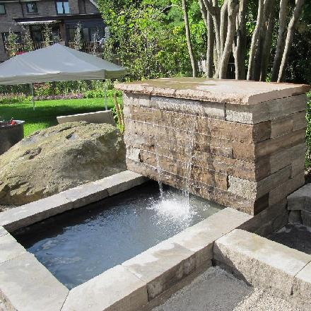 Stone Water Fountains Image